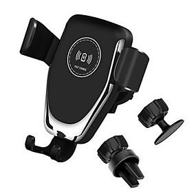billige Nyankomne i oktober-10w qi bil trådløs lader hurtiglading smart telefon holder montering for iphone 8 8 pluss xs samsung s8 s9 s10