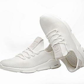 baratos Tênis Masculino-Homens Sapatos Confortáveis Com Transparência Verão Tênis Respirável Preto / Branco