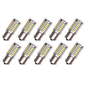 billige Nyankomne i oktober-10pcs 1156 Bil Elpærer 5 W SMD 5630 33 LED Blinklys / Bremselys / Reversering (backup) lys Til Universell Alle år