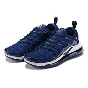 baratos Sapatos Esportivos Masculinos-Homens Sapatos Confortáveis Microfibra Primavera Verão Esportivo Tênis Corrida Preto / Branco / Azul
