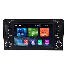 billige Nyankomne i oktober-winmark wn7047 7 tommers 2 din quada core 2g 16g android 9.0 in-dash bil dvd-spiller bil multimedia spiller bil gps navigator wifi ex-3g dab / gps / innebygd Bluetooth / rds for audi a3 2003-2011