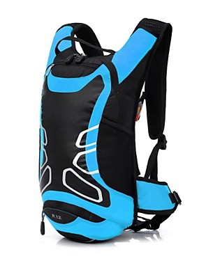 cheap Sports & Outdoors-12 L Bike Hydration Pack & Water Bladder Waterproof Moistureproof Dust Proof Wearable Outdoor Swimming Camping / Hiking Football / Soccer Polyester Nylon Red Green Blue