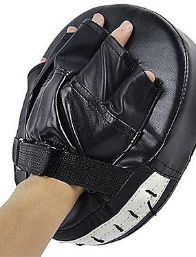 billige Sport og friluftsliv-Boksing og Martial Arts Pad Boksepad Punchbager med fokusmål PU Leather skum Atletisk trening Styrketrening Beskyttende Rebskaber Taekwondo Boksing Karate Til Herre