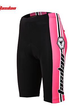 povoljno Sport és outdoor-TASDAN Žene Biciklističke kratke hlače s jastučićima Bicikl Kratke hlače Donje rublje Shorts Podstavljene kratke hlače Prozračnost Pad 3D Quick dry Sportski Crvena / Pink biciklom na cesti Odjeća