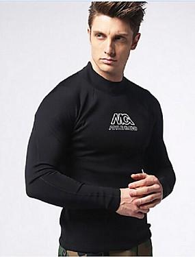 povoljno Sport és outdoor-MYLEDI Muškarci Mokro odijelo - majica Debelo 3mm Neopren Ronilačka odijela Majice Ugrijati Dugih rukava Plivanje Ronjenje Proljeće Ljeto Jesen