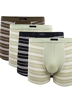voordelige Weekly Deals-Patroon Jongensonderbroek / slip Heren Natuurlijk / Medium taille