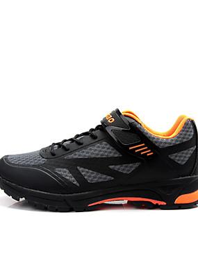 povoljno Sport és outdoor-Tiebao® Sneakers Tenisice za biciklizam Najlon Vodootporno Prozračnost Anti-Slip Biciklizam Crn Plava Muškarci Tenisice za biciklizam / Cushioning / Sintetika, mikrofibra, PU / Cushioning