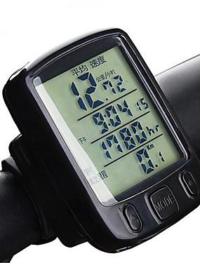 저렴한 스포츠 & 아웃도어-A234 자전거 디지털 장비 백라이트 주행 거리계(오도미터) 미끄럼 방지 산악 자전거 사이클링 / 자전거 접는 자전거 싸이클링