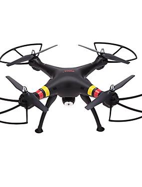 billige Salg-RC Drone SYMA X8C 4 Kanaler 6 Akse 2.4G Med HD-kamera 2.0MP 200 Fjernstyrt quadkopter FPV / En Tast For Retur / Feilsikker Fjernstyrt Quadkopter / Fjernkontroll / Kamera / Hodeløs Modus / Sveve