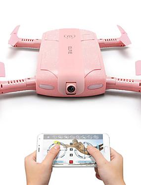 billige Salg-RC Drone JJRC H37 4 Kanaler 6 Akse 2.4G Med HD-kamera 1080P Fjernstyrt quadkopter FPV / LED Lys / En Tast For Retur Fjernstyrt Quadkopter / USB-kabel / Blader / Auto-Takeoff / Hodeløs Modus / Sveve