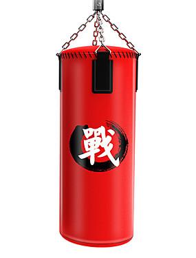 billige Sport og friluftsliv-Punchbag Styrketrening fylt Til Boksing Muay Thai MMA UFC 1 pcs Rød