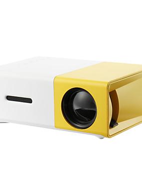 povoljno Happy Mothers' Day-yg300 kućno kino kino usb hdmi av sd mini prijenosni hd vodio LCD projektor home media film player podrška 1080p av, usb, sd kartica, 320 x 240 hdmi / usb / av / cvbs