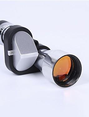 abordables Deportes y Ocio-8 X 20 mm Monocular Lentes Portátil BAK7 Camping / Senderismo / Cuevas De Uso Diario Múltiples Funciones Cromo