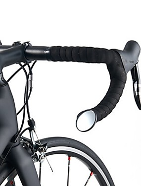 povoljno Sport és outdoor-ROCKBROS Retrovizor Ogledalo za padajuću prečku Samostojeće Sigurnost Za Cestovni bicikl Mountain Bike Biciklizam Reciklirani papir Crn 1 pcs