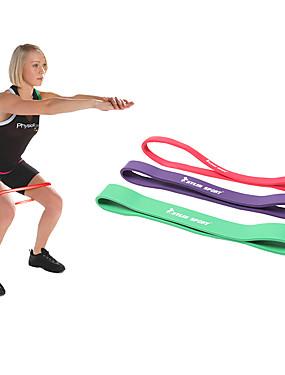 billige Sport og friluftsliv-KYLINSPORT Resistansebånd til trening Gummi Atletisk trening Styrketrening Pull-up Fysioterapi Yoga & Danse Sko Pilates Trening Til Unisex Hjem Kontor