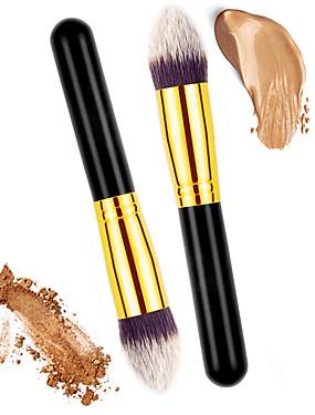 halpa perusta harjat-ammattilainen Makeup Harjat Poskipunasivellin 2 Ekologinen Ammattilais Pehmeä Mukava Synteettinen tukka Puu / Metalli varten