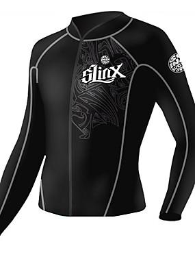povoljno Sport és outdoor-SLINX Muškarci Mokro odijelo - majica Mokro odijelo - jakna 2mm Majice Ugrijati UV zaštitu od sunca Ultraviolet Resistant Dugih rukava Ronjenje
