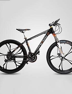 povoljno Sport és outdoor-Mountain Bike Biciklizam 27 Brzina 26 inča / 700CC Shimano M370 Disk kočnica Vilica s oprugom Monocoque Običan Aluminijska legura / #