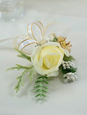 """voordelige De Bruiloftswinkel-Bruidsboeketten Boutonnieres Bruiloft Andere Materiaal / Plexiglas / Stoffen 5.91"""" (circa 15cm)"""