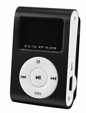 abordables Lecteur MP3-lecteur mp3 lcd support 32gb micro sd tf card
