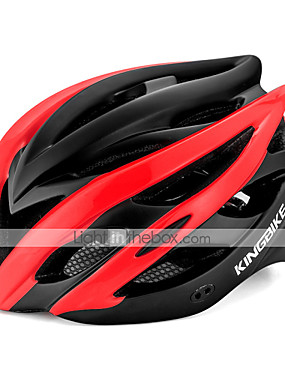 cheap Sports & Outdoors-Kingbike Adults' Bike Helmet 7 Vents CE Integrally-molded Lightweight EPS PC Sports Road Bike Mountain Bike MTB Outdoor Exercise - Fuchsia Red Green Men's Women's Unisex