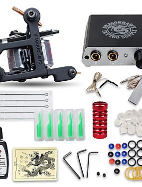 povoljno Ljepota i kosa-DRAGONHAWK Tattoo Machine Starter Kit - 1 pcs Tattoo Machines s 1 x 15 ml tetovaža tinte, Profesionalna, Kompleti, Jednostavna primjena Legura Mini napajanje No case 1 x lijevanog željeza tetovaža
