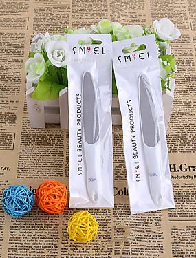 voordelige Nagelvijlen & Buffers-1 set Roestvast staal Nail Art Tool Voor Vingernagel Slijtvast / Duurzaam / Licht en comfortabel White Series Nagel kunst Manicure pedicure Eenvoudig Dagelijks