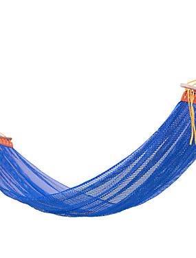 abordables Sports & Loisirs-Hamac de Camping Extérieur Portable Respirable Ultra léger (UL) Soie ice pour 1 personne Camping Extérieur Intérieur Rose Pailleté Vert Bleu Roi 200*130 cm