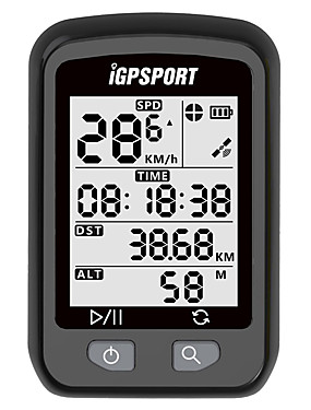 povoljno Sport és outdoor-iGPSPORT® IGS20E Ciklokompjutori Speedometer Odometer Vodootporno GPS Bežično Cestovni bicikl Mountain Bike BMX Biciklizam