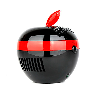 Black Apple USB Notebook Computer PC Mate Air Purifier (SMQ2267)