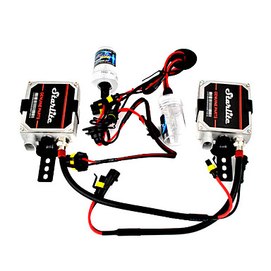h1 HID-Xenon-Kit 6000k 55w Lampe mit Vorschaltgerät Kit