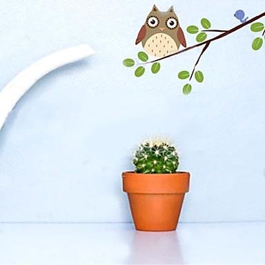 Hayvanlar Botanik Duvar Etiketler Uçak Duvar Çıkartmaları Dekoratif Duvar Çıkartmaları, Vinil Ev dekorasyonu Duvar Çıkartması Duvar