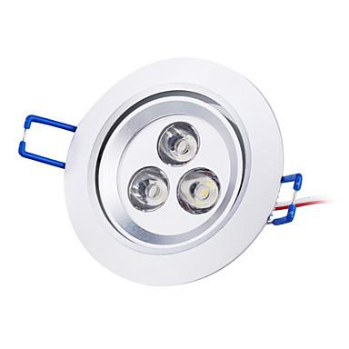 3000 lm Tavan Işıkları Gömme Işıklar Gömme Uyumlu 3 led Yüksek Güçlü LED Doğal Beyaz AC 85-265V