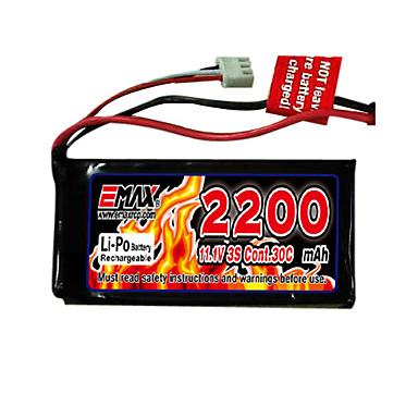 emax 2200mAh 3s 11,1 30c Li-polymerová baterie s t konektorem (ex0025)