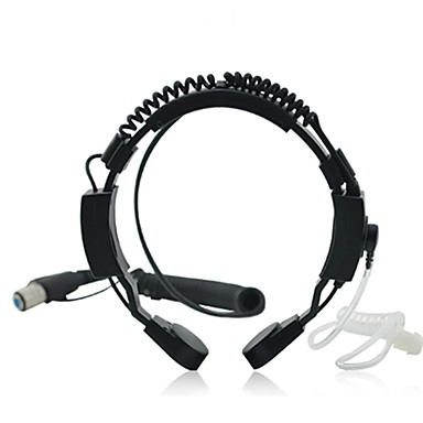 Throat Mic Set for Walkie Talkies / 2-Way Radios (HV27)