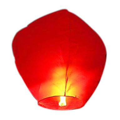 kongming licht vliegen hemel lantaarn (willekeurige kleur)