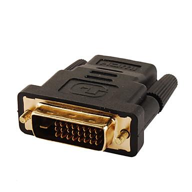 v1.3 HDMI dişi adaptör dönüştürücü dvi erkek