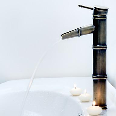 antička brončana slap kupaonica sudoper slavine (bambus oblik design)