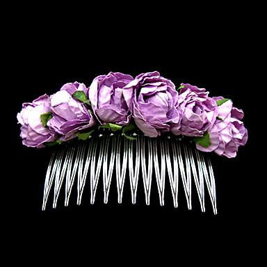 herlig papir blomst weddiing brude headpiece / hår pin