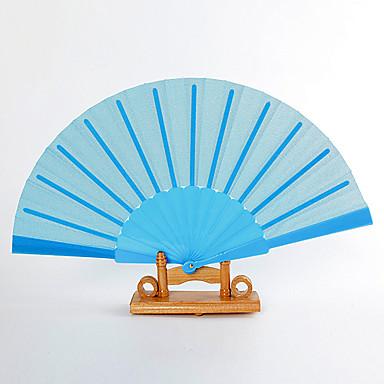 Svila Obožavatelji i suncobrani-# Komad / set Ručni Obožavatelji Vrt Tema Klasični Tema Plav 16 1/2