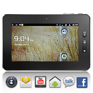 Incheon - Android 2.3 Tablette w / 7 Zoll kapazitiver Touchscreen + wifi