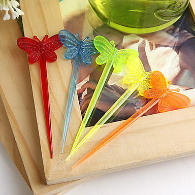 mariposa, hors d'oeuvre selecciones favor de la boda (juego de 50)