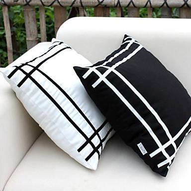 1 kpl Silkki Tyynynpäälinen, Skottiruutukuvio Toimisto/työ Moderni/nykyaikainen
