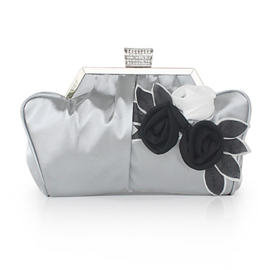Silk/Chiffon Evening Handbags/ Clutches/ Novelty More Colors Available