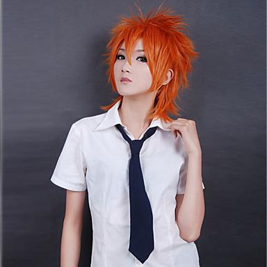 Cosplay Parykker Cosplay Cosplay Anime Cosplay Parykker 35 CM Varmeresistent Fiber Herre