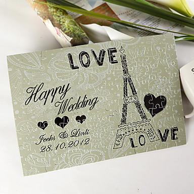 puzzle personalizat - dragoste Turnul Eiffel