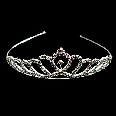 gorgeous Strass Hochzeit Braut Diadem / Stirnband / Kopfstück