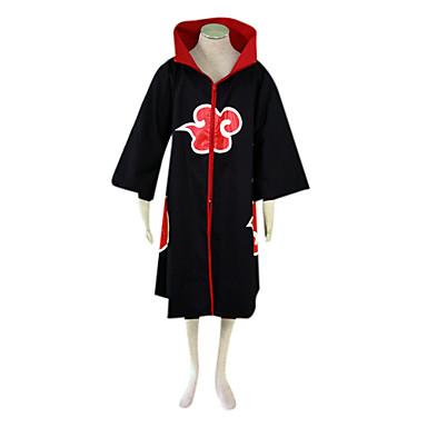 Inspirirana Naruto Sarutobi Sasuke Anime Cosplay nošnje Cosplay Suits Color block Dugih rukava Plašt Za Muškarci