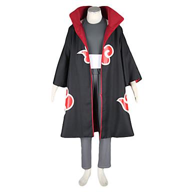 Innoittamana Naruto Kakuzu Anime Cosplay-asut Cosplay Puvut Color Block Pitkähihainen Liivi / Housut / Päähine Käyttötarkoitus Miesten Halloween-asut