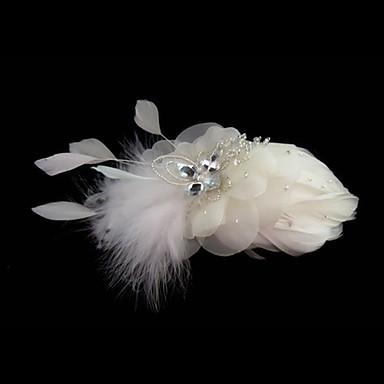 Tüy - Fascinators Çiçekler 1 Düğün Özel Anlar Başlık